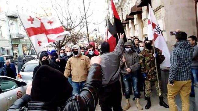 ВГрузии разгромили турецкие рестораны под крики «Смерть противнику!»