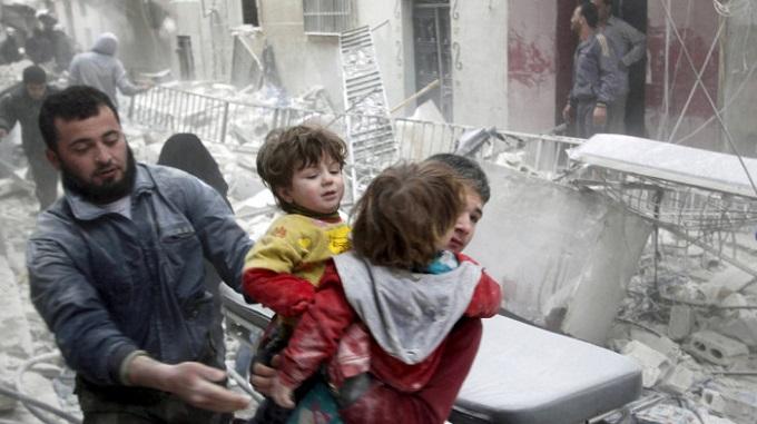 В итоге обстрела пригорода Дамаска погибли шесть детей,— защитники прав человека