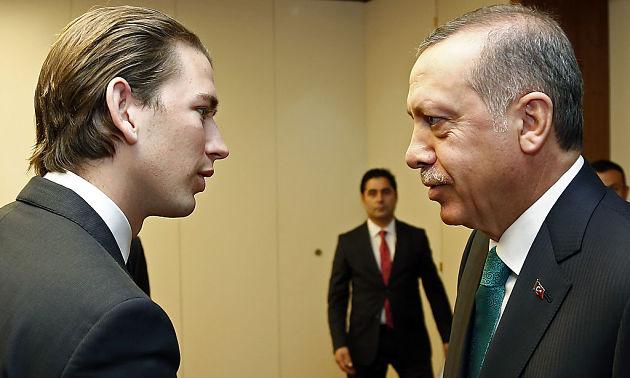 Вена выступила против участия Эрдогана втурецком референдуме вАвстрии