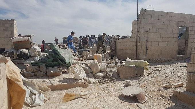 ВСирии жертвами авиаудара стали 19 человек