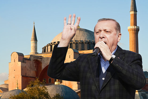 Эрдоган иего сторонники победили крестоносцев