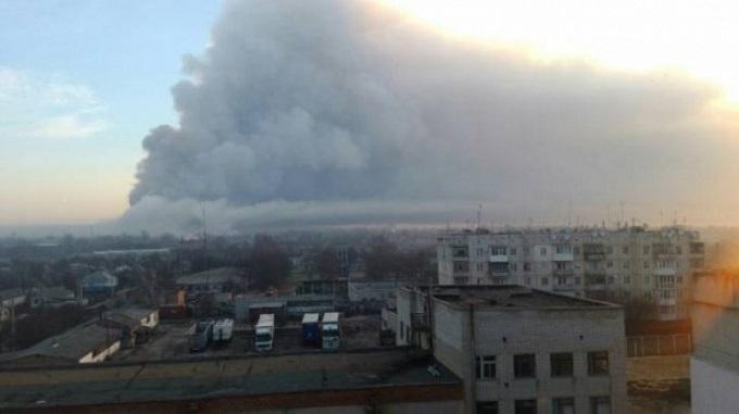 ВАзербайджане наоружейном складе произошел взрыв