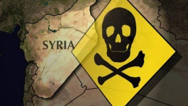 Сирийские войска использовали зарин вХан Шейкуне