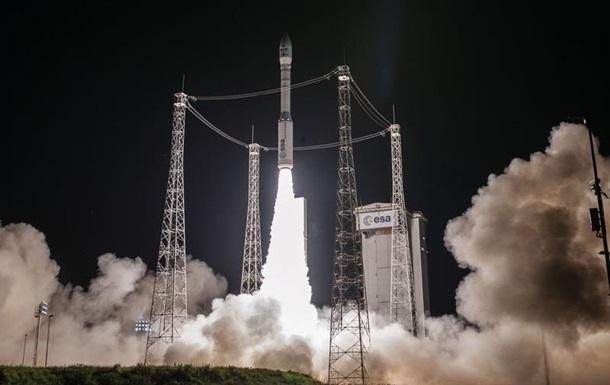 Ракета Vega с марокканским спутником на борту стартовала с космодрома Куру