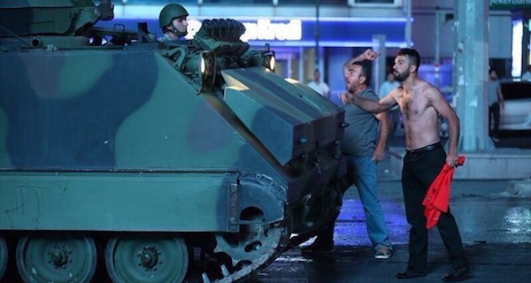 Авторское:  Переворот в Турции - кульминация заговора