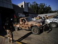 В Триполи начались бои за резиденцию Каддафи