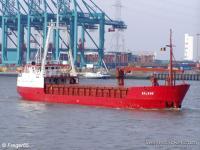 Российское судно Chariot с 60 тоннами боеприпасов прибыло в Сирию.