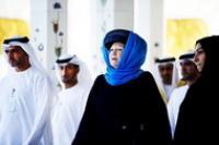 Королева Нидерландов надела хиджаб при посещении мечети
