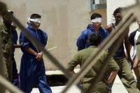 Пытка 65 пленных палестинцев на сильном морозе