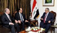 Талабани, Малики и Нуджаифи обсудили подготовку к национальной конференции