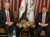 Встреча Бернса с египетскими партиями