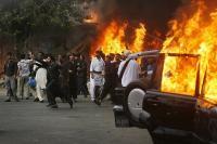 Взрыв в Пакистане, 18 жертв