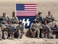 Американские снайперы сфотографировались в Афганистане на фоне символа СС