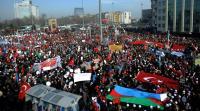 Десятки тысяч человек собрались в Стамбуле, чтобы почтить память жертв резни в Ходжалы