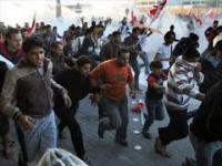 Нападение на участников демонстрации