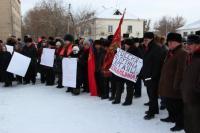 Сельский аргаяшский оппозиционный митинг
