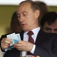 Путин строит роскошные дачи на ворованные у Русского народа деньги