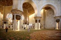 Мечеть шейха Зайда (внутри)