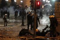 Греция: Недовольство выплеснулось на улицу
