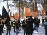 Демонстрация против Сирийского режима