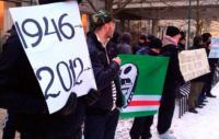 В Стокгольме состоялась акция протеста