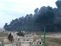 В Сирии горит нефтепровод и готовится референдум