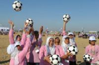 ООН призывает ФИФА разрешить мусульманкам играть в футбол в хиджабах
