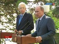 Путин сформулировал план действий по Сирии