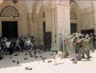 """В мечеть """"Аль-Акса"""" ворвались израильские оккупанты"""