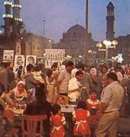 В Каире прошел первый ифтар священного месяца Рамадан