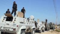 Египет усиливает группировку войск на Синайском полуострове