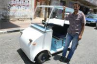 Житель Газы собрал электромобиль