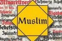 Размещение исламофобских плакатов в Нью-Йоркском метро