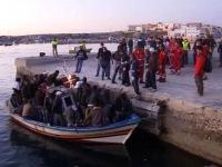 У итальянской Лампедузы затонуло судно с нелегалами