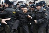 На Триумфальной площади в Москве задержали около 30 человек