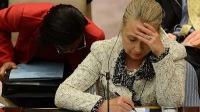 Клинтон не стала слушать речь Лаврова в ООН