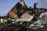 В Судане разбился военно-транспортный самолет