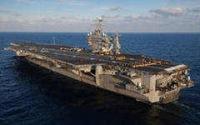 Очередная группа боевых короблей США прибыла в район Персидского залива