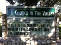 Церковь призвала не голосовать за «мусульманина Обаму»