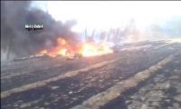 Сирийские повстанцы сбили правительственный вертолет