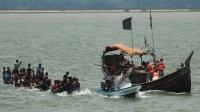 Корабль с беженцами рохинья потерпел крушение
