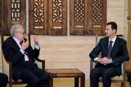 Посланник ООН в очередной раз обсудил тревожную ситуацию в Сирии с Асадом