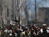 В Сирии повстанцы взяли под контроль лагерь палестинских беженцев на окраине Дамаска