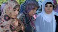 Акция в поддержку хиджаба