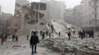 ВВС Асада нанес мощный ракетный удар по г. Алеппо