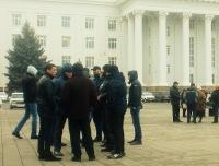 В Нальчике проходит митинг против произвола силовиков