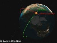 В космическое ДТП попали российский и китайский спутники