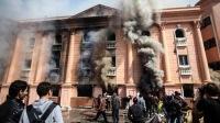 В Каире сожгли штаб-квартиру федерации футбола