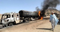 """""""Талибан""""  атаковал колонны снабжения НАТО в Пакистане"""
