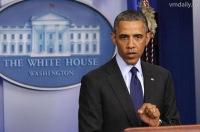 Обама поблагодарил Путина за антитеррористическое сотрудничество